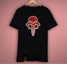 Skull Of Mandalorian Boba Fett Unisex Premium T Shirt Size S-2Xl  #mandalorian #skull #bobafett #starwars #tshirts #tshirt #mpcteehouse #darthvader