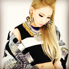 @feverishjewelry | CL(@chaelin_cl) of 2NE1 wearing FEVERISH elephant earrings on ONPEDDER LOVES CL feat.KENZO...