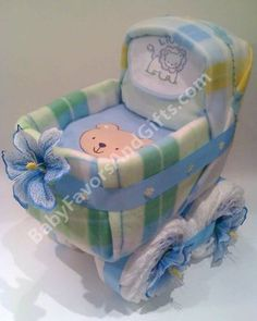 baby diaper cake roses for boy | Nappy Cake Boy - informed is forearmed