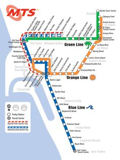 Atlanta Metro | Metro Maps of the World | Map, Subway map ...