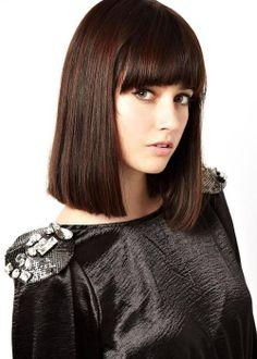 Shop ASOS Premium Mesh Shoulder Brooches at ASOS. Asos Premium, Bob Haircut With Bangs, Lob Hairstyle, Fringes, Online Shopping Clothes, Latest Fashion Clothes, Hair Inspiration, Fashion Beauty, Hair Cuts