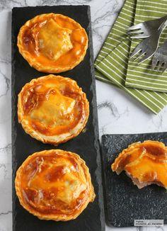 Empanadillas de jamón. Receta clásica renovada