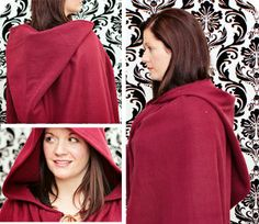 Scrambling for a last-minute easy Halloween costume? This DIY Little Red Riding Hood Costume tutorial shows you how to sew a cape that will transform you into your favorite fairy tale character in under an hour.