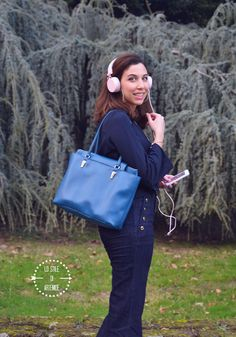 outfit seventies/ Piero Guidi tote bag #denim #outfit #seventies