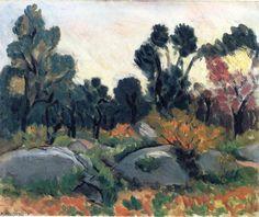 'landschaft' von Henri Matisse (1869-1954, France)
