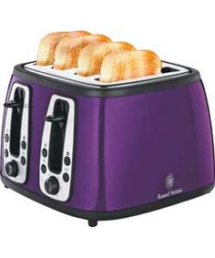 Kenmore 4 Slice Toaster Purple  Appliances  Small Kitchen Alluring Purple Kitchen Appliances Design Decoration