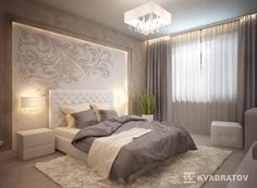 See more ideas about Bedroom decor, Modern bedroom and Bed design. Luxury Bedroom Design, Master Bedroom Design, Home Bedroom, Bedroom Decor, Luxury Interior, Bedroom Designs, Bedroom Ideas, Trendy Bedroom, Modern Bedroom
