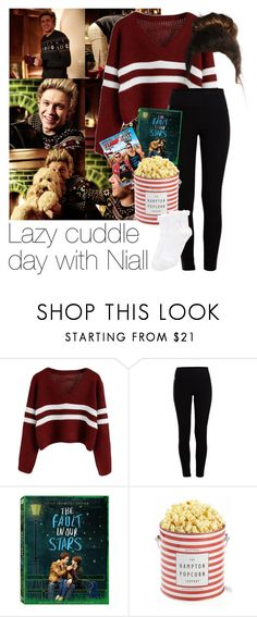 """""""REQUESTED: Lazy cuddle day with Niall"""" by style-with-one-direction ❤ liked on Polyvore featuring Pieces, Oasis, OneDirection, 1d, NiallHoran and niall horan one direction 1d"""