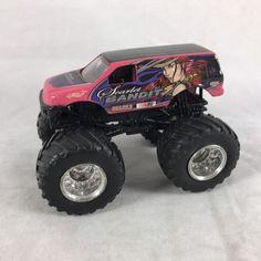 Scarlet Bandit No Roof Logo Rare VHTF Plastic Base Monster Jam Trucks Hot Wheels  | eBay