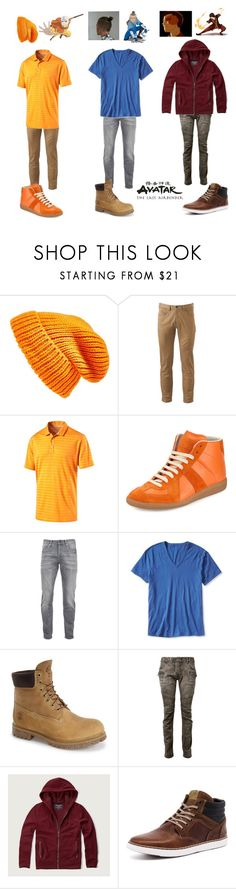 """""""Modern avatar the last airbender"""" by ptomusic ❤ liked on Polyvore featuring Topshop, Dockers, Puma, Maison Margiela, Episode, Scotch & Soda, Banana Republic, Timberland, Balmain and Abercrombie & Fitch"""