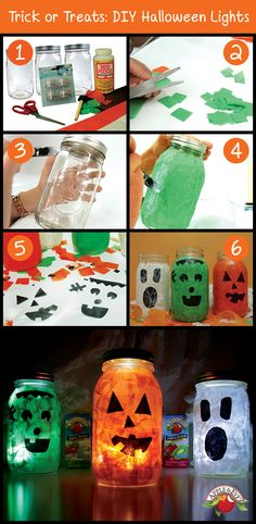 Here's a step-by-step guide to creating our DIY Halloween Lights!