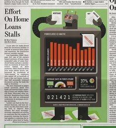 Wall Street Journal - Mikey Burton / Designy Illustration