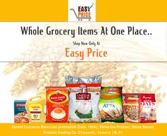 Easy Price a one-stop shop for your grocery products.  Enjoy your grocery shopping, with more benefits, now Loose packing is available. For free home delivery contact us : 093008 77144