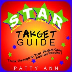 STAR is an acronym that stands for Situation * Task * Action * Result. This STAR TARGET GUIDE includes numerous exercises that are easy to comprehend and integrate. Learn to apply the STAR method to a variety of environments. Printable generic templates, ready-to-use include: *Assignments *Communication Issues *Job Interview Questions *Challenging Life Concerns *Setting Personal Goals - This is an excellent guide for helping students think through a situation to get great results.