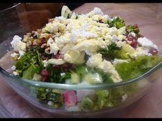 Φτιάξε την πιο τέλεια πράσινη σαλάτα - YouTube Potato Salad, Salads, Potatoes, Ethnic Recipes, Youtube, Food, Potato, Essen, Meals