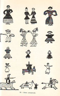 SIMBOLURI ARHAICE ROMANESTI [ III ] | un altfel de jurnal Pattern Illustration, Cross Stitch Designs, Fabric Patterns, Folk, Mac, Carpet, Symbols, Concept, Traditional