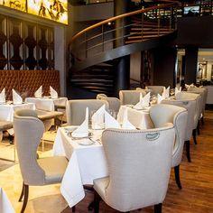 Restaurante El Lobby, El Pardo Doubletree by Hilton, Miraflores, Lima - Perú. By ALMA Arquitectura e Interiores