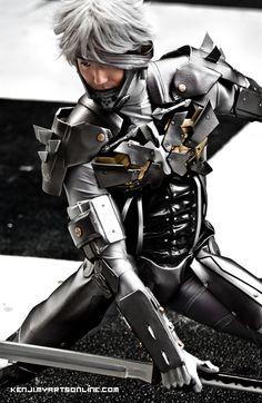 Raiden cosplay - Metal Gear Rising: Revengeance - by ~SoCoPhDPepper on deviantART