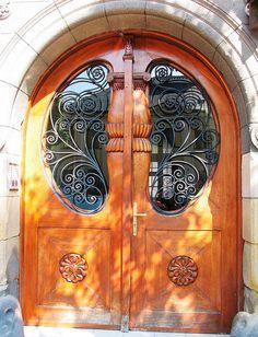 Doors in Rzeszów, Poland