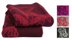 Røros Tweed Melgaard Wolldecke 130x200 cm