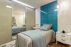 quarto da menina azul