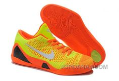 2f68dc3fe068 Nike Kobe 9 Elite Low Volt Orange Nike Basketball Shoes