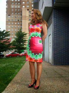 Un vestido para mí: vestido desigual