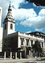 St. Nicholas Cole Abbey - Sir Christopher Wren - Great Buildings Architecture