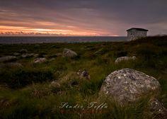 Sunset at Obrestad. My Images, Pop Up, Fine Art Prints, Celestial, Mountains, Sunset, Landscape, Studio, Nature