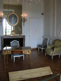 Interior view of the apartment. Versailles.
