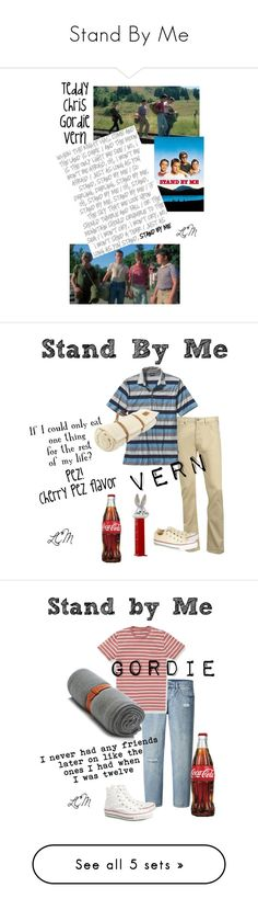 """""""Stand By Me"""" by the-house-of-el ❤ liked on Polyvore featuring art, Armani Jeans, Patagonia, Midipy, Converse, Uniqlo, Bonobos, Armand Diradourian, 6397 and ZeroUV"""