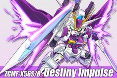 Animé : Gundam : destiny impulse by vivi   / http://www.pixiv.net/member_illust.php?mode=medium&illust_id=60631510