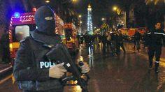 Suicide Attack on presidential Guard bus kills 12 : Tunisia