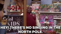 christmas movies will ferrell elf faizon love theres no singing in the north pole #humor #hilarious #funny #lol #rofl #lmao #memes #cute