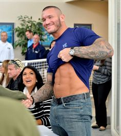 Randy Orton Tribute to the Troops 2012.