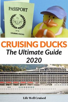 What are Cruising Ducks and How do You Play? Have you heard about Cruising Ducks? It's a fun trend that's sweeping through the cruise community. Whether you cruise on Carnival, where this trend began, or… Cruise Packing Tips, Cruise Travel, Cruise Vacation, Vacations, Cruise Excursions, Cruise Destinations, Cruise Port, Cruise Ship Reviews, Best Cruise Ships