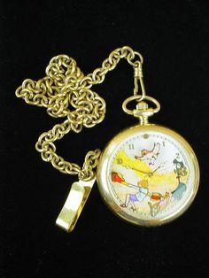 "Disney Limited Edition ""Winnie The Pooh"" Beautiful Pocket Watch"