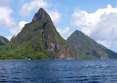 The Pitons St. Lucia [OC] [4416x3151]