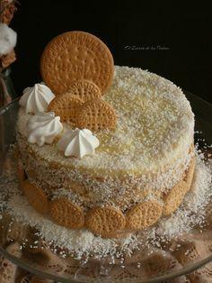 Deli Food, Plum Cake, Flan, Yummy Cakes, Sweet Recipes, Tiramisu, Cake Decorating, Deserts, Biscotti