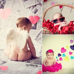 Baby's First Valentine's Day: 15 Photo Ideas for Baby - Chic & Cheap Nursery™