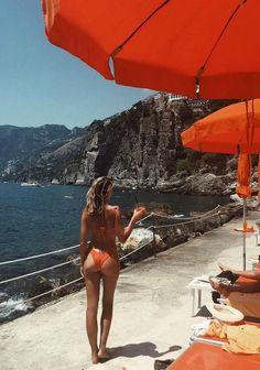 La Dolce Vita ... Our 'Chile' ROCHA Bottoms and ESTELLA Top available at www.sommerswim.com #bikini #italy #beach #summer #body || @sommerswim