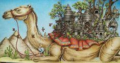 "157 Likes, 18 Comments - xOnMyWay (@xonmyway) on Instagram: ""Finished! Camel from Imagimorphia  #imagimorphia #kerbyrosanes #imagimorphiacolouringbook…"""