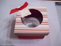 How To Make an Individual Cupcake Box
