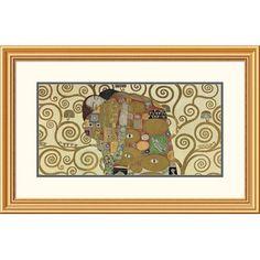 Global Gallery 'The Embrace' by Gustav Klimt Framed Graphic Art Size: 2