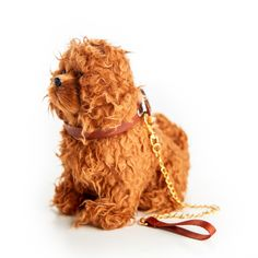 The Queen's Treasures Doll Pet Accessory - Labradoodle Dog With Collar & Leash Sims Pets, Ukulele Design, Little Live Pets, Black Girl Cartoon, Pets For Sale, Pet Boutique, Collar And Leash, Doll Shoes, 18 Inch Doll