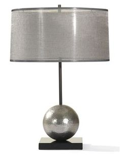 LAMPS.037 MITCHELL GOLD + BOB WILLIAMS: Sterling Table Lamp