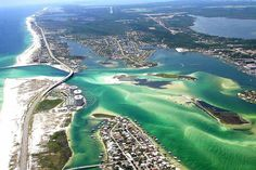 High shot of Terry Cove in Orange Beach, AL.  Click the link to visit our website and view current Orange Beach, AL homes for sale.  http://www.condoinvestment.com/orange-beach-al-subdivisions.php