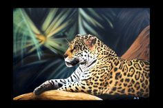Presenting my Jaguar airbrushed on canvas 100 x It's up for grabs for There are also prints available for limited to 150 pieces. Airbrush, Art Blog, Drawings, Artist, Drawing Websites, Canvas, Happy Drawing, Book Art, Prints