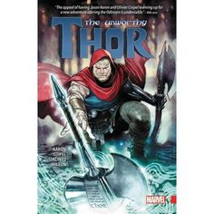 "Read ""The Unworthy Thor"" by Jason Aaron available from Rakuten Kobo. Collecting The Unworthy Thor Unfit to lift his hammer, with another now wielding the power of Thor, the Odinson's . Marvel Comics, Thor 1, Studios, Audiobooks, This Book, Ebooks, Superhero, Fictional Characters, Free Apps"