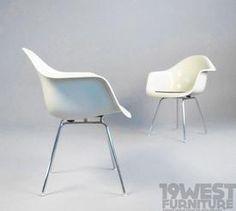Glass Fiber Arm Chairs   Charles & Ray Eames   Vitra